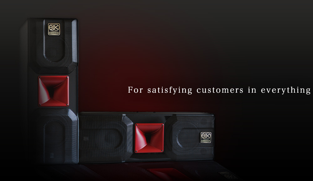 For satisfying customers in everything